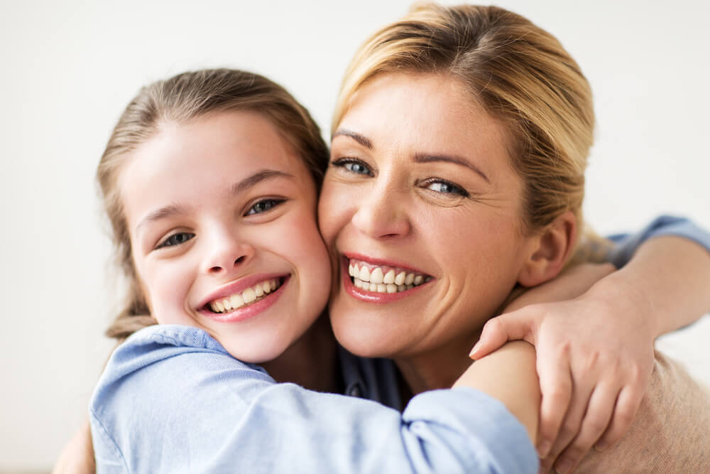 Invisalign attachements for mom and her daughter